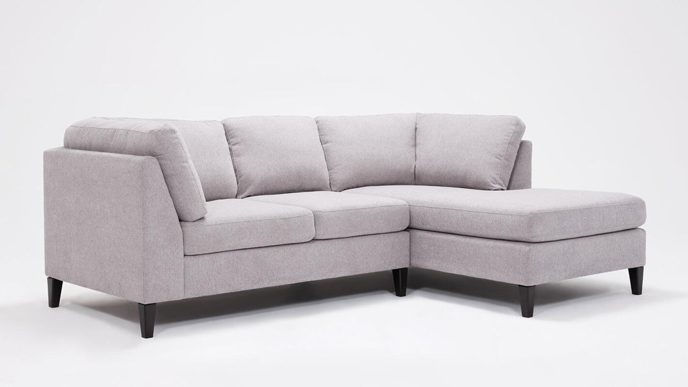 Salema 2-Piece Sectional Sofa With Chaise - Fabric
